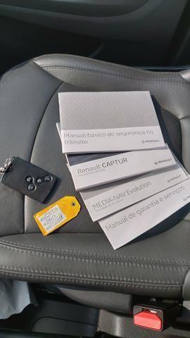Renault Captur Zen Automático CVT, Único dono, com Garantia de Fabrica e completíssimo - Foto 6