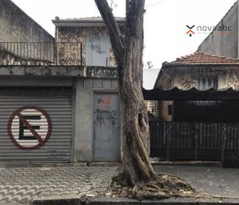 Terreno à venda, 500 m² por R$ 1.365.000 - Casa Branca - Santo André/SP - Foto 2