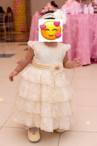 Vestido de Festa Princesa, bordado a mão - Foto 2