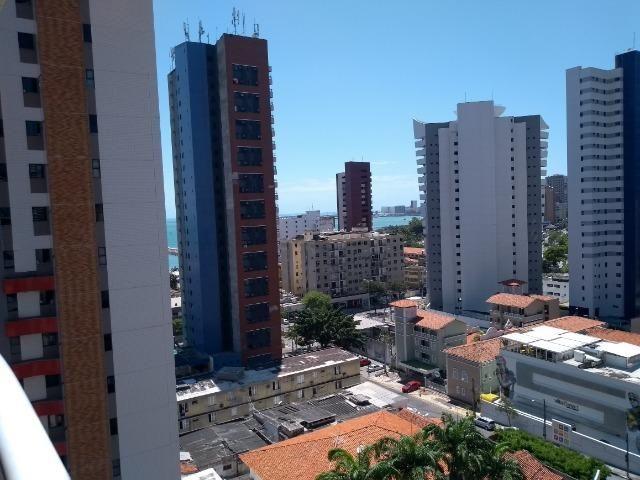 Varandão com vista mar na Silva Jatahy, 03 s,gab. 04 vgs-Recebe imóvel!!!!! - Foto 2
