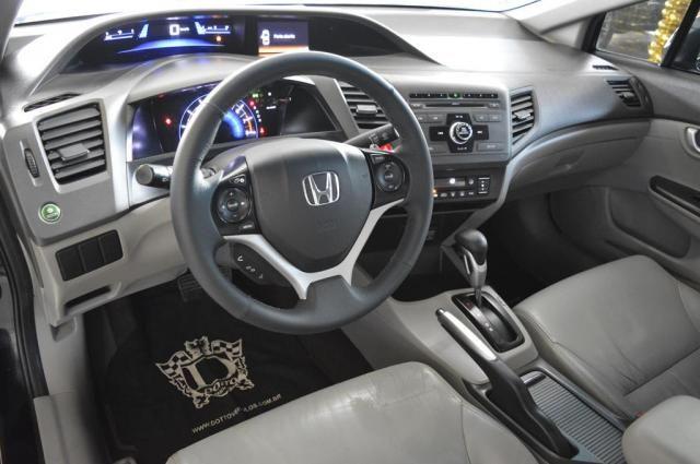 Honda Civic Sedan LXR 2.0 Flexone 16V Aut. 4p - Preto - 2014 - Foto 7
