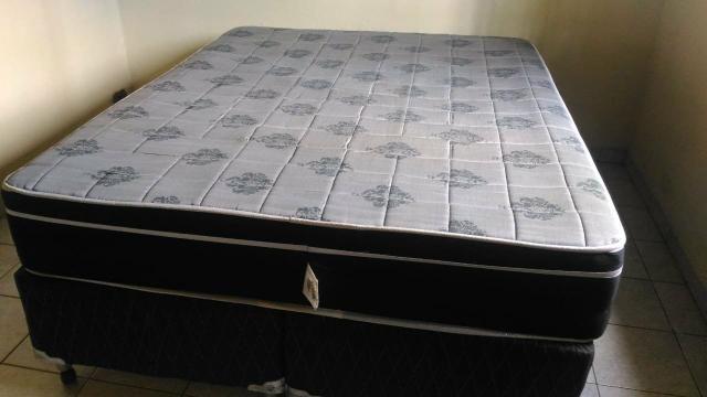 421bab60d4 Cama box casal King - Móveis - Freitas