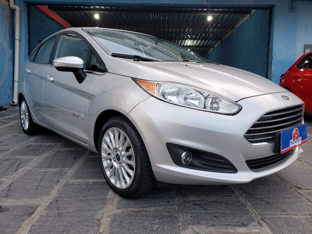 Ford Fiesta 1.6 Titanium 2015 Sedan. Um Dos Mais Novos De Campina - Foto 3