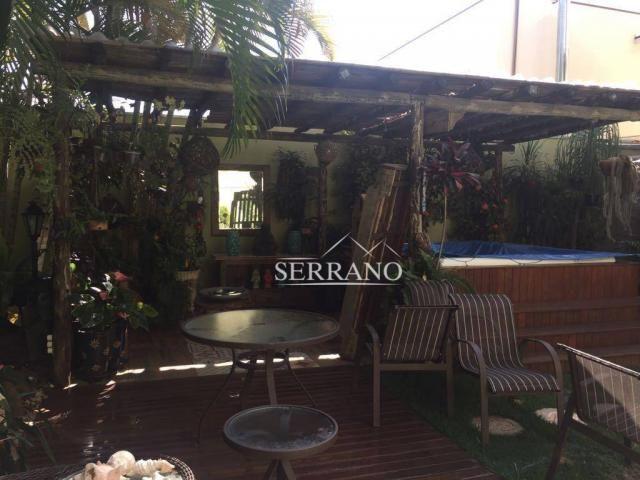 Casa com 4 dormitórios à venda, 390 m² por R$ 1.700.000,00 - Condomínio Villagio Capriccio - Foto 7