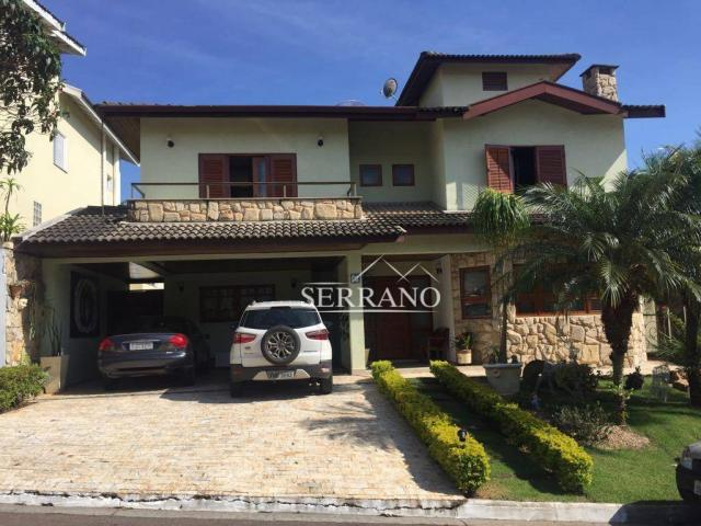 Casa com 4 dormitórios à venda, 390 m² por R$ 1.700.000,00 - Condomínio Villagio Capriccio