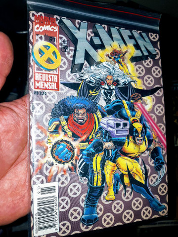X-Men número 91editora abril