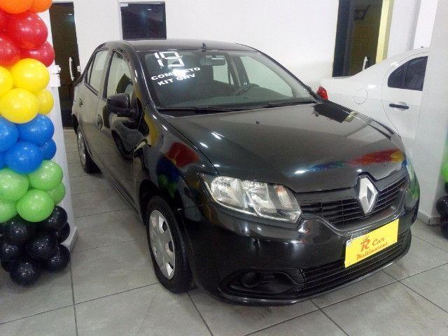 Renault Logan 1.0 comp + Gnv ent 48 x 798,00 informações * Gilson - Foto 2