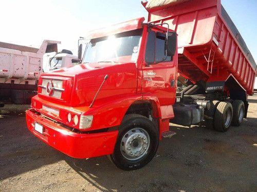 Caminhão Mercedes Benz 1620 Truck Turbo caçamba