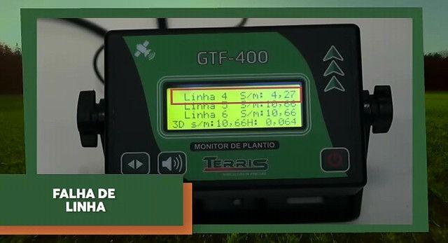 Monitor de plantio GTF-400 conta sementes - Foto 4