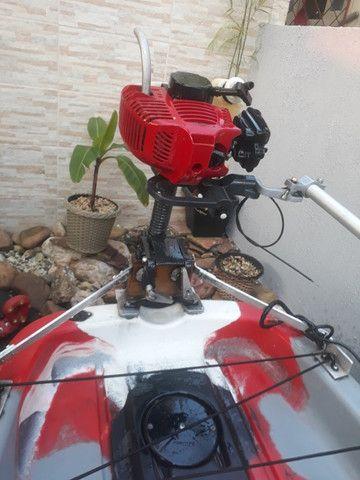 Caiaque Leader com Pedal e Motor - Foto 12