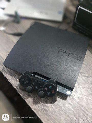 PS3 Slim Desbloqueado 500 GB