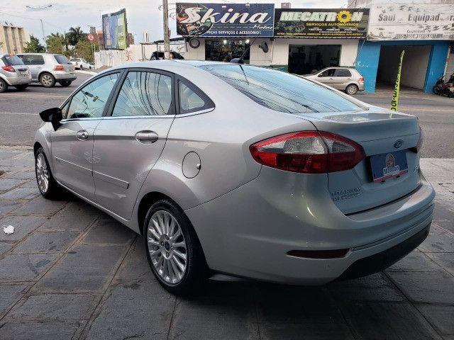 Ford Fiesta 1.6 Titanium 2015 Sedan. Um Dos Mais Novos De Campina - Foto 7