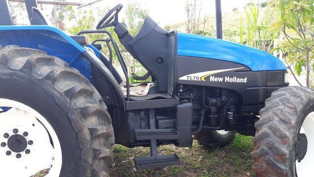 Trator New Holland Tl 70 - Foto 2