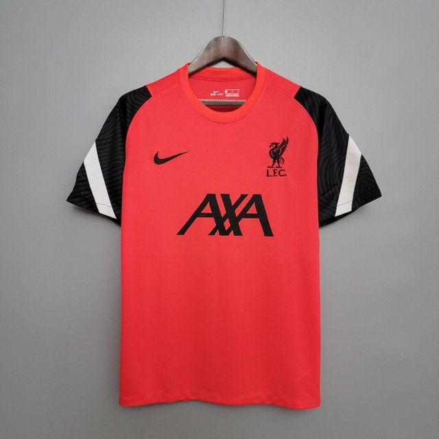 Camisa Liverpool de Treino 2020/21