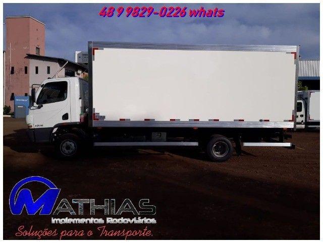 carroceria refrigerada 3/4 toco truck bi truck  para todos os tamnahos  - Foto 2