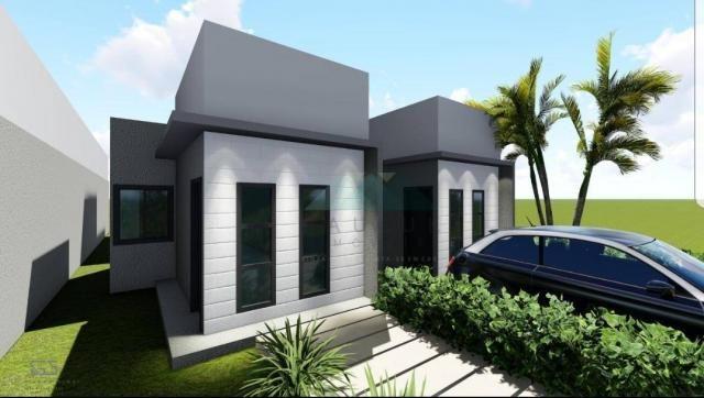 Casa com 2 dormitórios sendo 1 suíte à venda, 65 m² por R$ 220.000 - Loteamento Comercial