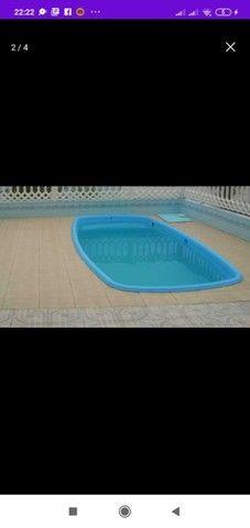 Piscina Oval 4 metros - Frete Grátis - Foto 2