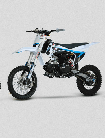 Mini Moto Cross Mxf Pro Racing 110cc Azul Modelo Lançamento 2021