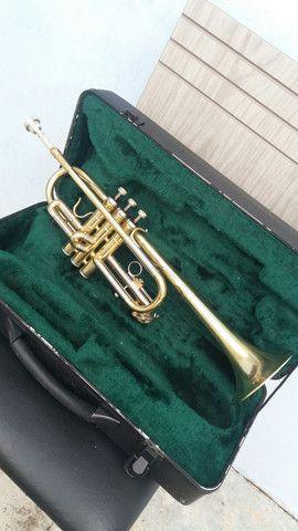 Trompete consert ct-440.em Do frab.japanesa quase Novo. - Foto 2