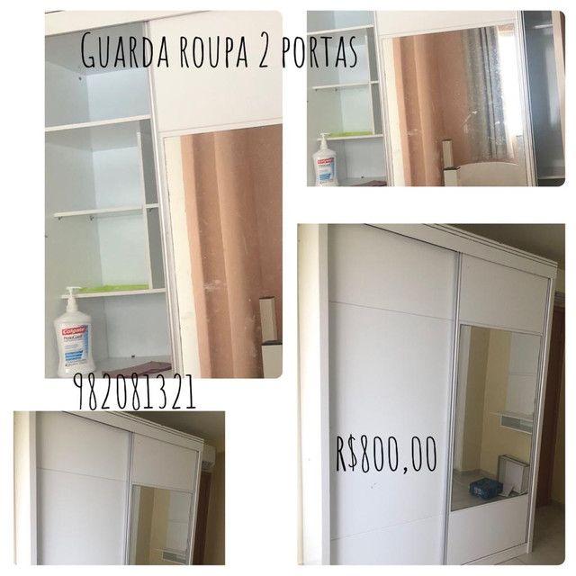 Guarda roupa três portas , estante , colchão beliche armário de cozinha