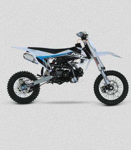 Mini Moto Cross Mxf Pro Racing 110cc Azul Modelo Lançamento 2021 - Foto 3
