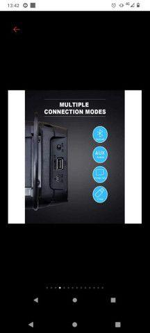 Caixa de som Bluetooth FM - Foto 2