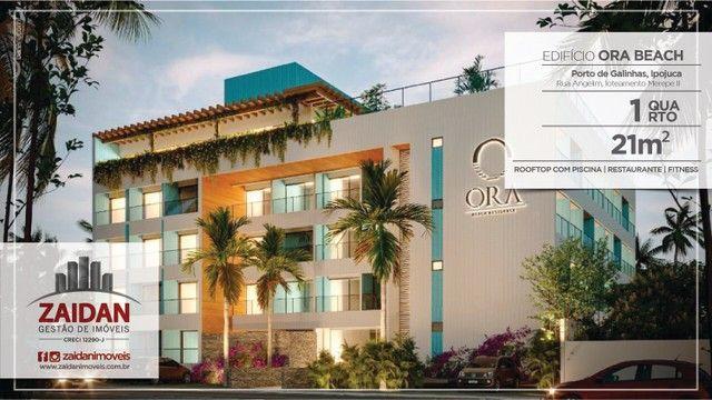Apartamento 01Qt no Ora Beach Residence - Piscina - Pet play - Porto de Galinhas