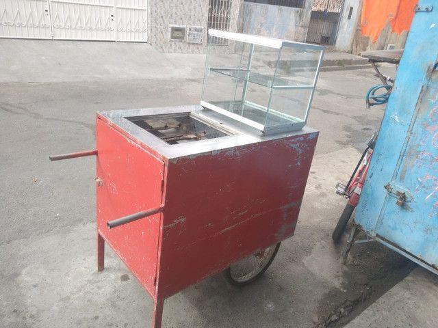 Carro de cachorro quente  - Foto 2