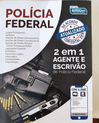 Polícia Federal Agente e Escrivão 2 em 1 Apostila Alfacon