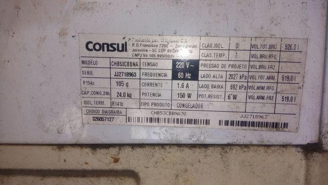 Freezer Refrigerador Consul Horizontal