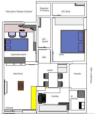 Apartamento alto nível, Residencial Astúrias 308 Sul, ao lado do IFTO