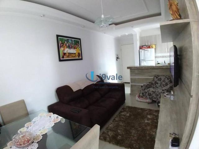 Apartamento com 2 dormitórios à venda, 54 m² por r$ 180.000 - villa branca - jacareí/sp - Foto 7