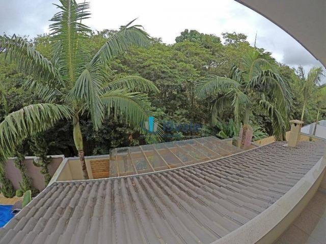 Linda casa à venda condomínio crystal park, área lazer privativa, vista para reserva ambie - Foto 12