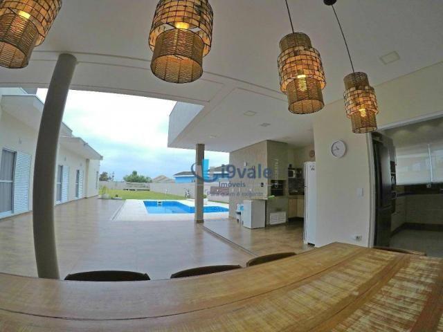 Linda casa térrea à venda, condomínio alto luxo mirante do vale, jacareí-sp - Foto 4
