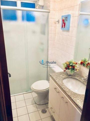 Apartamento com 3 dormitórios sendo 1 suíte à venda, 70 m² - vila industrial - são josé do - Foto 19