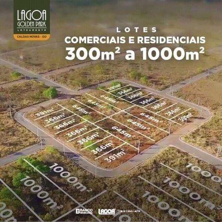 lotes parcelados Lagoa G. Park caldas novas - Lote a Venda no bairro Setor Lagoa... - Foto 9