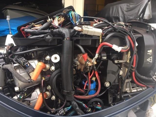 Lancha 19 real profish 190 - motor de popa 115hp - Foto 9