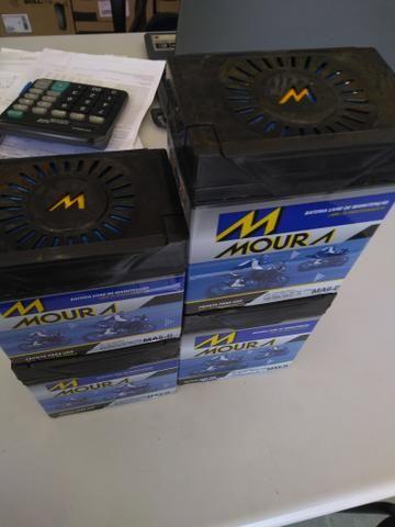 Bateria Moura fazer150 fan Titan factor com entrega em todo Rio! - Foto 3
