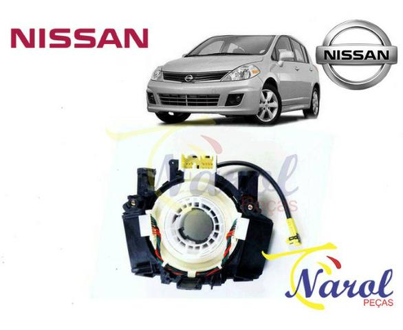 Cinta Airbag Hard Disk Mola Relógio Nissan March, Versa, Tiida, Livina, Sentra, Kicks - Foto 5