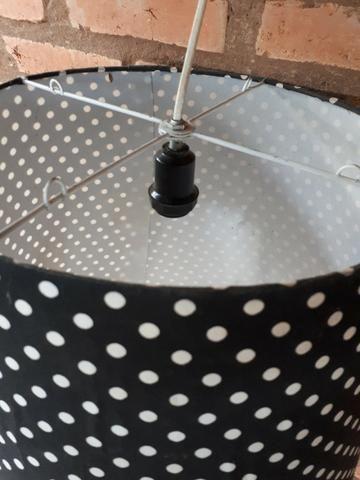 Luminária de Poá (bolinha) - Foto 2
