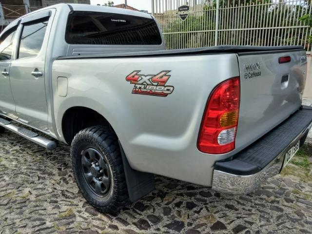 Toyota Hilux CD D4-D 2.5 TB Diesel 4x4 Completa cambio Mecânico 2009 - Foto 5