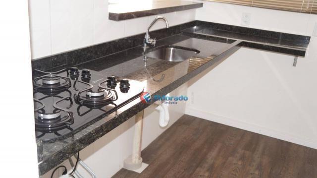 Apartamento com 2 dormitórios para alugar, 45 m² por r$ 550,00/mês - residencial guairá -  - Foto 7