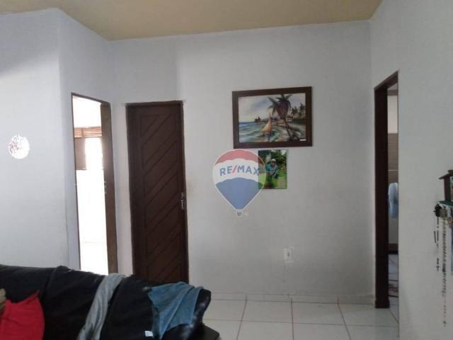 Casa com 2 dormitórios à venda, 84 m² por r$ 160.000,00 - zona norte - são gonçalo do amar - Foto 9