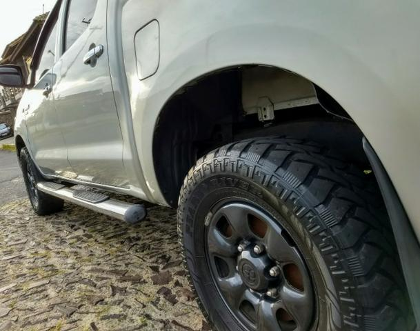 Toyota Hilux CD D4-D 2.5 TB Diesel 4x4 Completa cambio Mecânico 2009 - Foto 7
