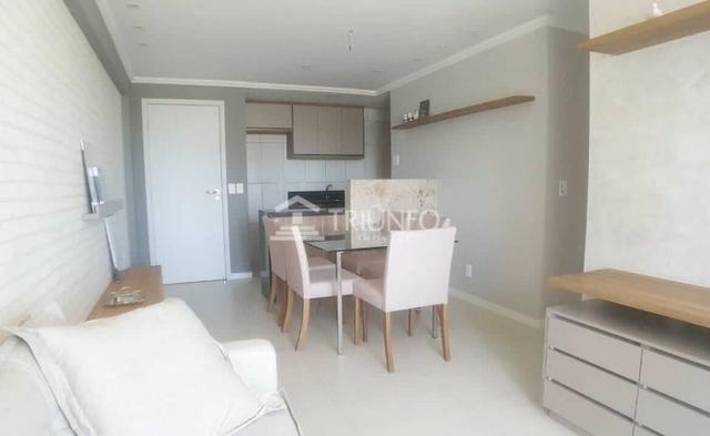(HN) TR 20432 - Apartamento a venda no Luciano Cavalcante com 71m² - 3 quartos - 2 vagas