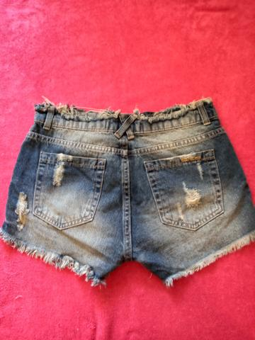 Conjunto camiseta + short + camisa jeans - Foto 6
