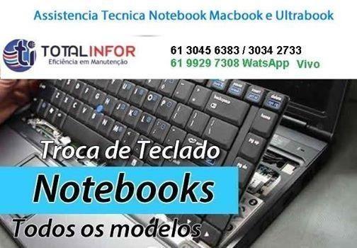 Problemas Teclado Notebook ou MacBook air ou Pro? Resolvemos no mesmo dia