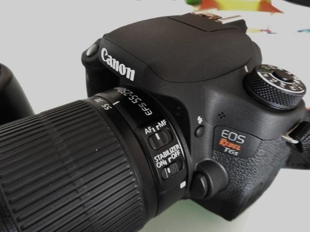 Máquina Fotográfica Canon Rebel T6s - Foto 5