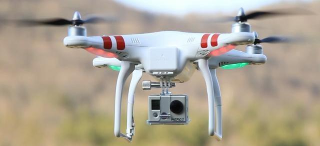 Drone Profissional DJI Phantom 1 C/ Câmera HD