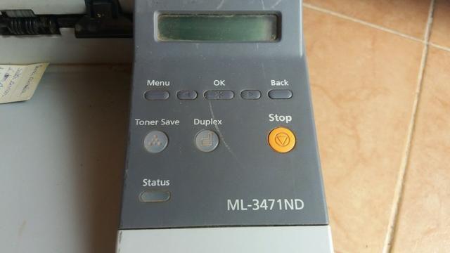 Impressora Laser Samsung Ml-3471nd (precisa de revisão) - Foto 2